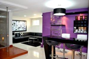 Motel Rocamar sala-bar-barra
