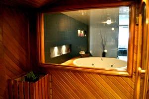 Motel Rocamar sauna